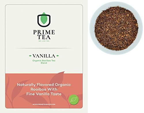 Free Samples Vitamins - ROOIBOS TEA - Delicious Vegan Caffeine Free Non-GMO All Natural Flavors Assortment of Loose Leaf Tea - Hot or Iced - 2 Ounce Makes 18-22 8oz Cups (Vanilla Organic, 2oz)