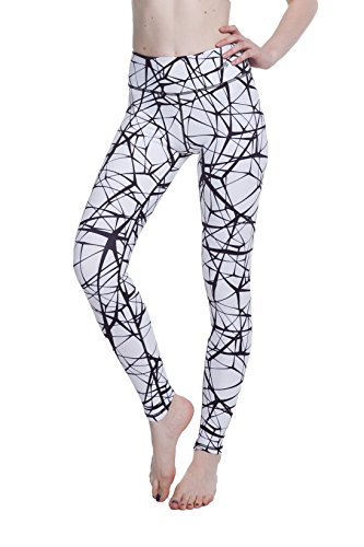 Women's Compression Pants Best Full Leggings Tights for Running, Yoga, Gym by CompressionZ