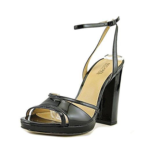 Michael Michael Kors Women's Yoonie Platform Sandals, Black, 8.5 B(M) US