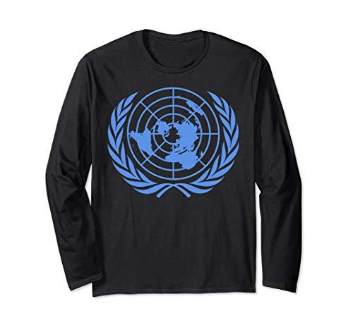 United Nations Flag Shirt long sleeve United