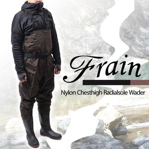フレイン(Frain)ナイロンチェストハイラジアルウェダーの画像