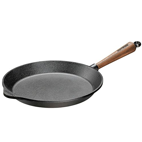 Skeppshult Traditional Walnut Handle Fry Pan, 11 Inch ()