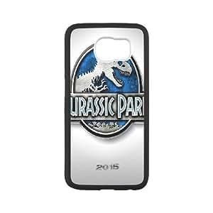 Personalized DIY jurassic park Custom Cover Case For Samsung Galaxy S6 Y6K850841