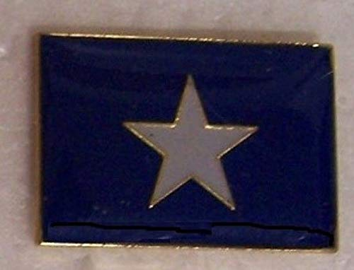 Hat Lapel Push Pin Tie Tac Confederate CSA Bonnie Blue Flag New