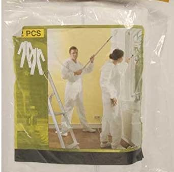 2 pieza desechable MONO Traje de protección, para renovar, Pintar ...