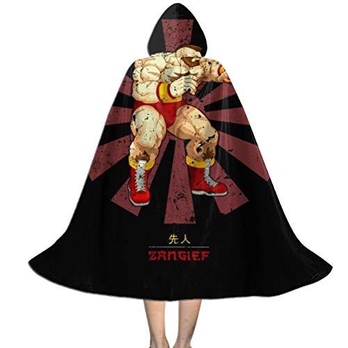 Zangief Halloween Costumes Pack - Zangief Retro Japanese Street Fighter Unisex