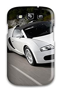 New Premium Flip Case Cover Bugatti Veyron 24 Skin Case For Galaxy S3