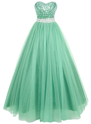 Buy long sweetheart neckline prom dresses - 8
