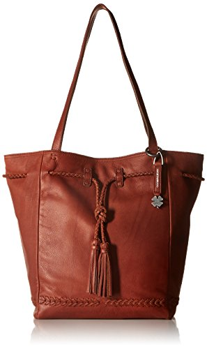 Lucky Brand Shadow Tote, Brandy by Lucky Brand