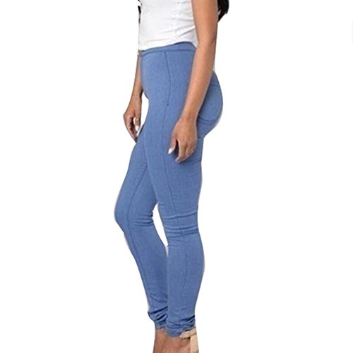 Crayon S Femme Broderie Stretch Pantalon Jeans Skinny Taille 3XL Denim Straight hibote Pantalons Jeans Haute Femmes Jeggings Denim Bleu Pantalon Casual Sexy HqHrwO