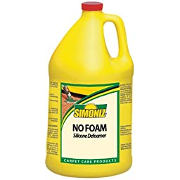 Simoniz No Foam Silicone Defoamer - Gal. -(1 CASE)