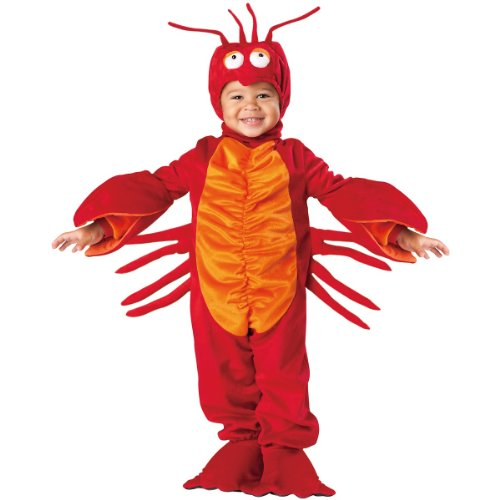 Toddler Lil Lobster Costumes - Lil' Lobster Costume Size: 4T