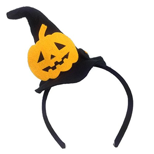 MeeTHan Halloween Pumpkin Hat Headbands :H16 (Pumpkin) (Halloween Miami Zoo)