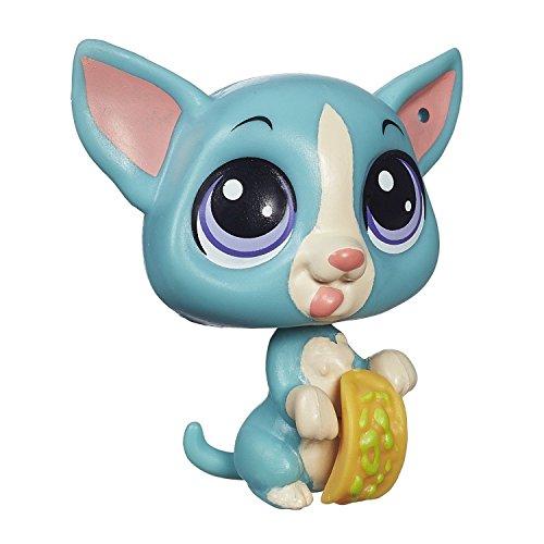 Littlest Pet Shop Get the Pets Single Pack Chi-Chi Ostos - Single Bobble Head