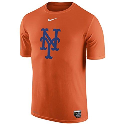 Nike Men's Mets MLB AC LGD 15 T-Shirt Orange Size Medium