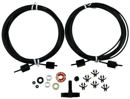 Gabriel 141099 Air Hose Kit - 1995 Jeep Air Wrangler