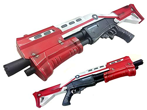 Tactical Pump Action Shotgun High Density Foam Gun 1:1 Scale Props (Red) (Pump Shotgun)