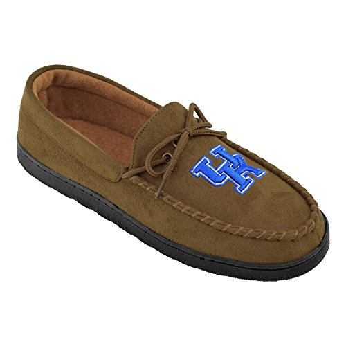 NCAA Kentucky Wildcats Men's Moccasin, Size 11, Brown (Kentucky Wildcats Acrylic Ncaa Football)