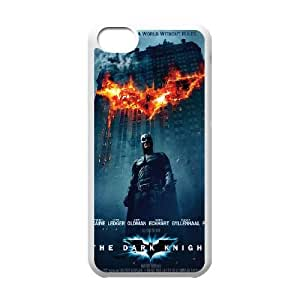 iPhone 5c Cell Phone Case White The Dark Knight LSO7955106