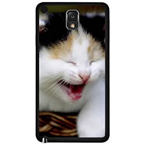 Adorable Smiling Baby Kitten Hard Snap on Phone Case (Note 3 III)