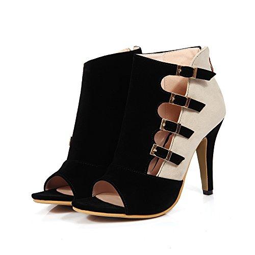AIWEIYi - Zapatos de tacón  mujer negro
