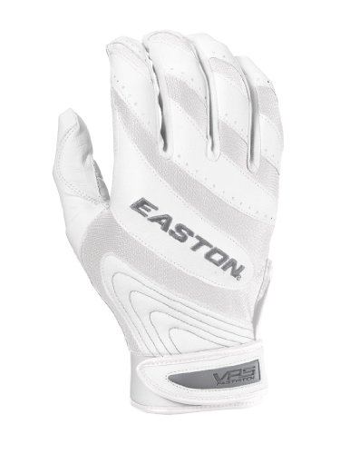 Easton Women's Synge VRS Fastpitch Batting Glove (White/White, X-Small)