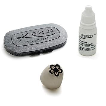 La Dot kt0045z temporal tatuaje piedra diseño de margarita pequeña ...
