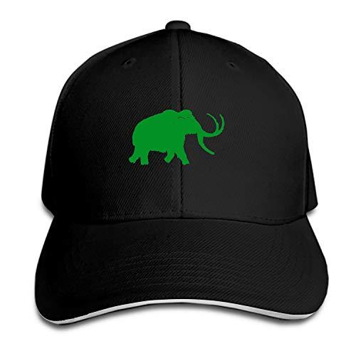 VEZEFOR Baseball Caps, Women Men Unisex Big Woolly Mammoth Snapback Hats Baseball Caps