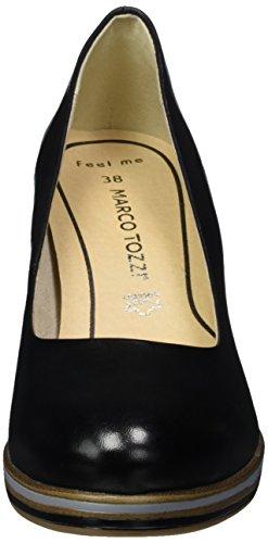 Marco Tozzi Premio 22438, Zapatos de Tacón para Mujer Negro (Black 001)