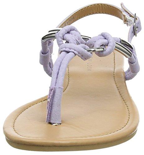 New Look Post - Tacones Mujer morado (Lilac)