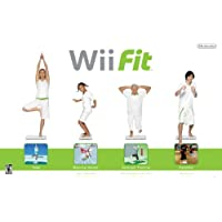 Wii Fit With Balance Board / Game