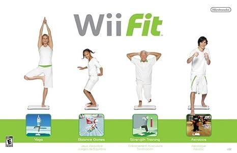 Wii Fit (Inlcuye Wii Balance Board): Amazon.es: Videojuegos