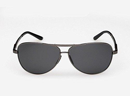 Polarisé Magnésium des Nouveau Soleil cocons Lunettes Aluminium Le Brillant Hommes Couleur CMCL gray Miroir Miroir Voyageur de nBARqTw1x