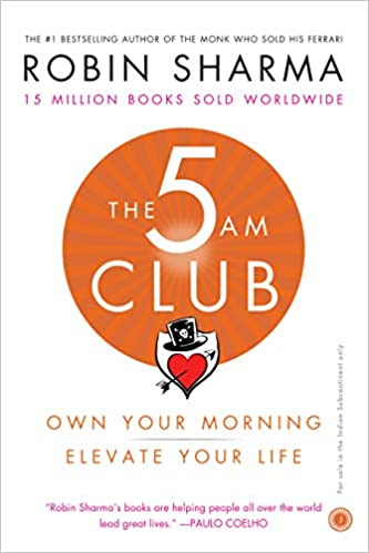 Buy The 5 AM Club: Own Your Morning, Elevate Your Life Book