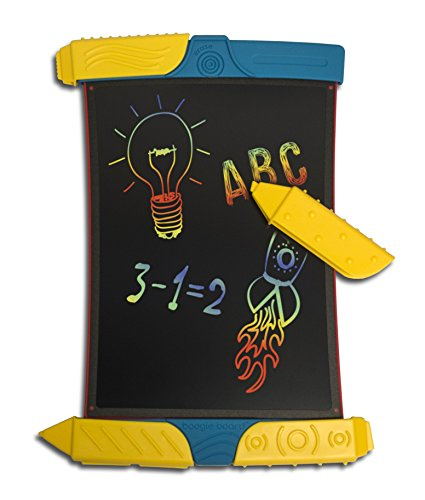 Boogie Board Scribble and Play Color LCD Writing Tablet + Stylus Smart Paper for Drawing eWriter Ages ()