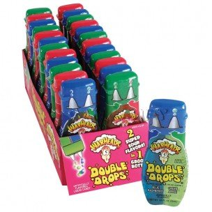 Warheads Super Sour Double Drops 1.01 oz: 24 Count by Warheads