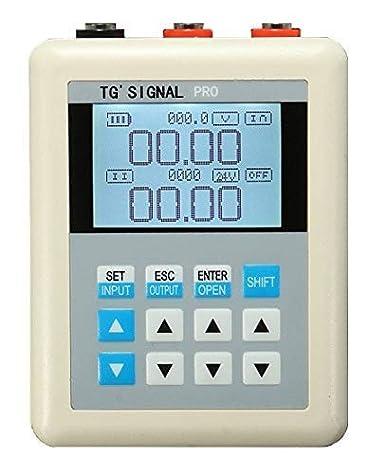 TG 4-20mA 0-10V signal generator 24V current and voltage signal generator