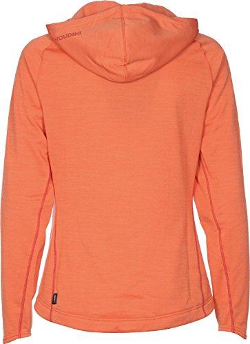 Houdini para mujer con capucha ganador absoluto Naranja - orange meliert