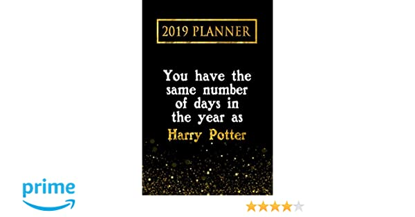 2019 Planner: You Have The Same Number Of Days In The Year ...
