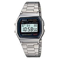 Men's Casio Digital Bracelet Watch - Sil...