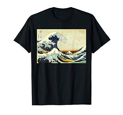 (The Great Wave off Kanagawa - Japanese Vintage Art )