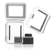 Nechkitter Backdoor Case Cover Kit for GoPro Hero 3+ Hero 4 Standard Housing Case + hollow backdoor + Touch LCD Backdoor set