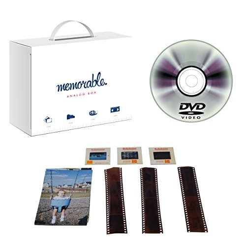 Memorable Image Scanning Service to DVD (5000 Photos) by Memorable