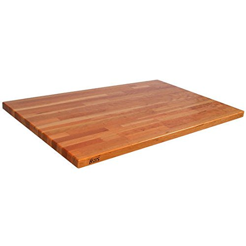 John Boos CHYKCT-BL2425-O Blended Cherry Counter Top with Oil Finish, 1.5