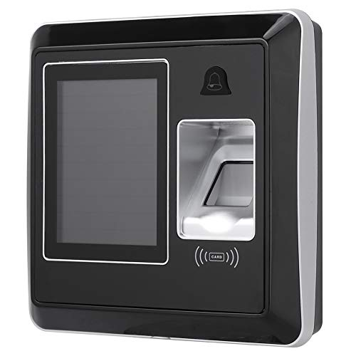 Biometric Fingerprint Time Attendance System 2.8in TFT Screen Employee Time Clock Access Control – Multi-verification Function with ID/IC Card, Fingerprint Card(IC 13.56Khz)
