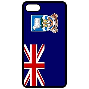 Falkland Islands Flag Black Apple Iphone 6 (4.7 Inch) Cell Phone Case - Cover