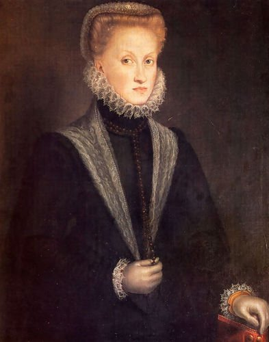 Sofonisba Anguissola Anne Of Austria, Queen Of Spain 72x91 [Kitchen] by 1st Art Gallery
