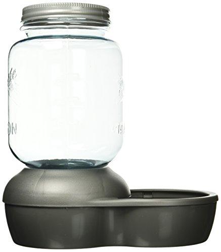 Petmate Replendish Waterer Mason Silver, 1 gallon