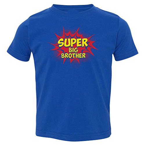 So Relative! Super Big Brother Hero Baby-Boys & Kids T-Shirt (Royal, Youth Medium (10-12) (T-shirt Youth Medium Only)
