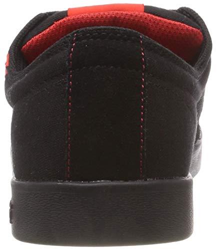 Zapatillas II Negro Black Hombre Stacks para Risk Supra 012 Red black 5Enqx7x